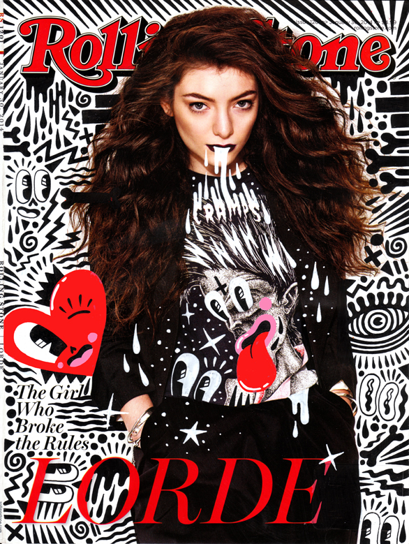 Rolling Stone cover, featuring Lorde