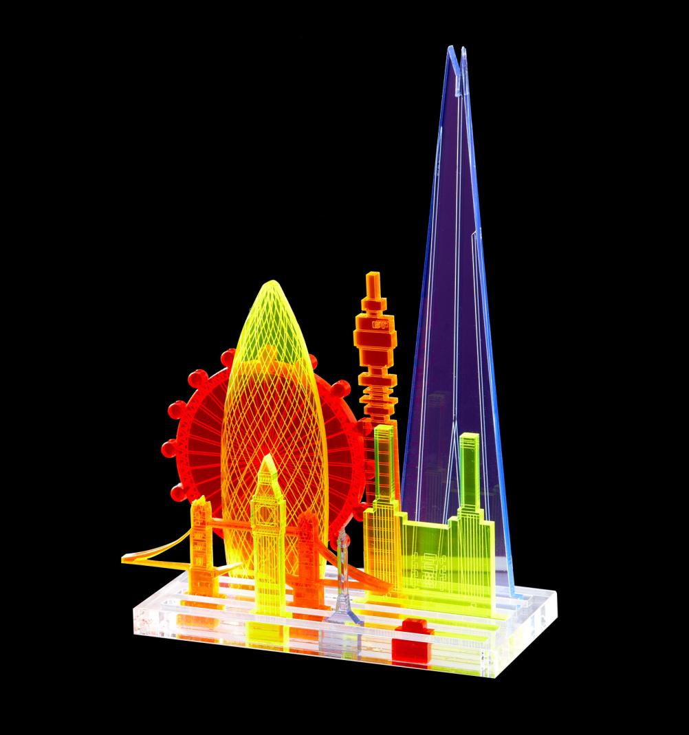 Perspex sculpture