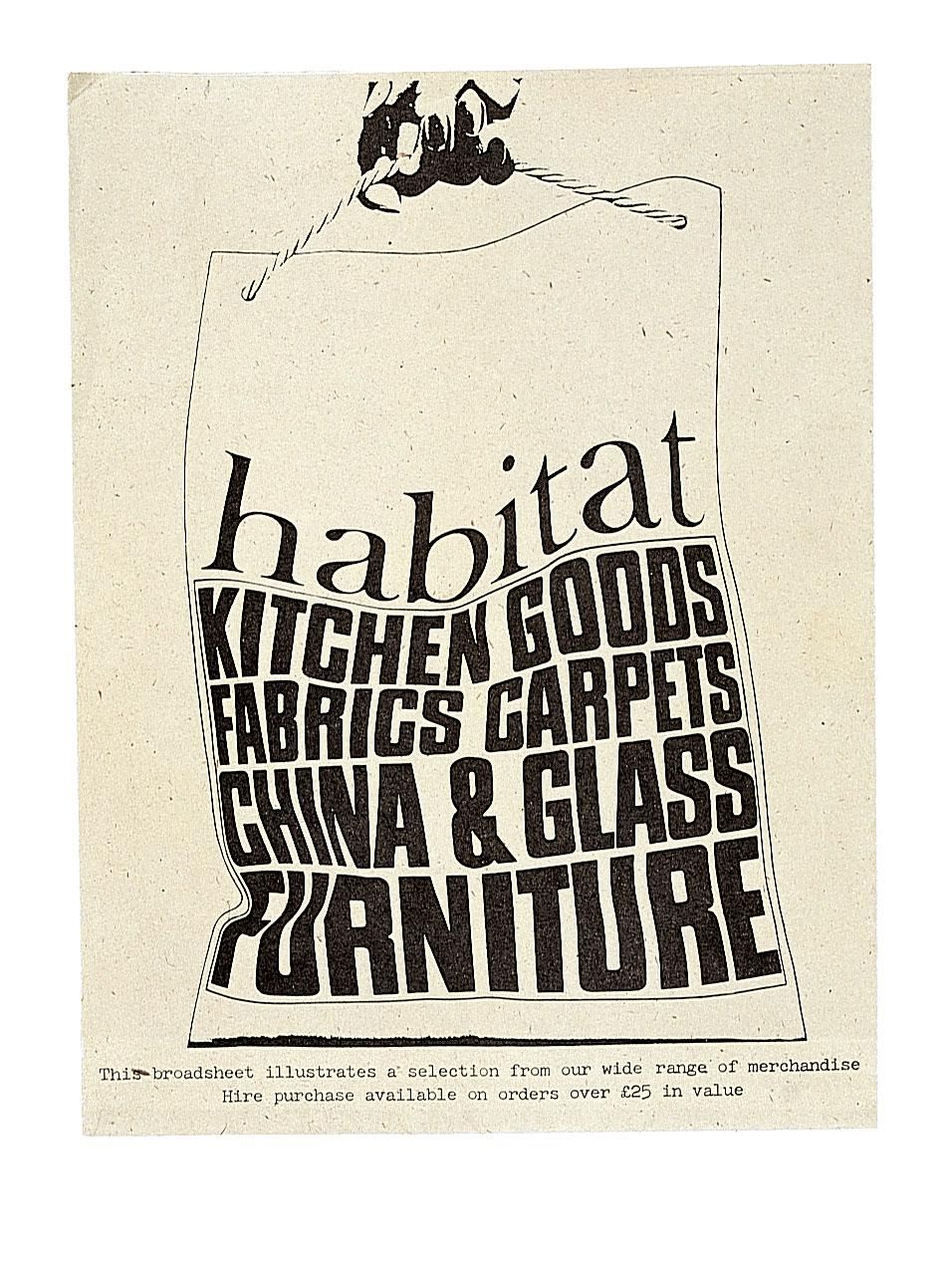 Original Habitat logo introduced in 1964