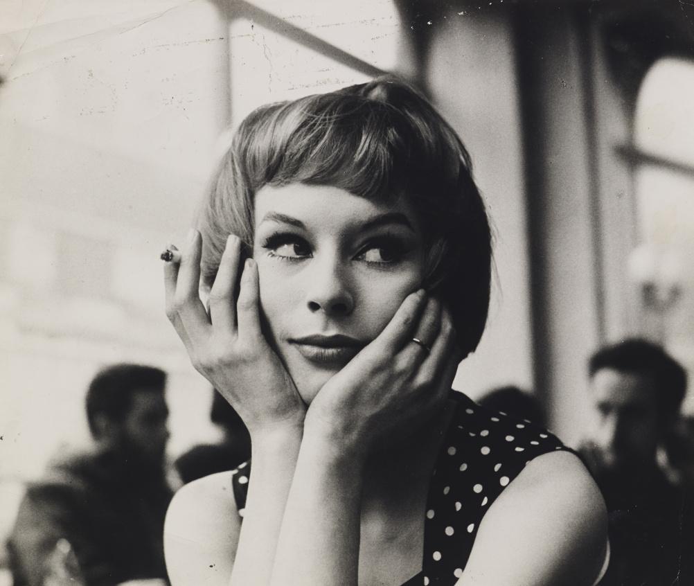John Deakin, Girl in Cafe´, late 1950s