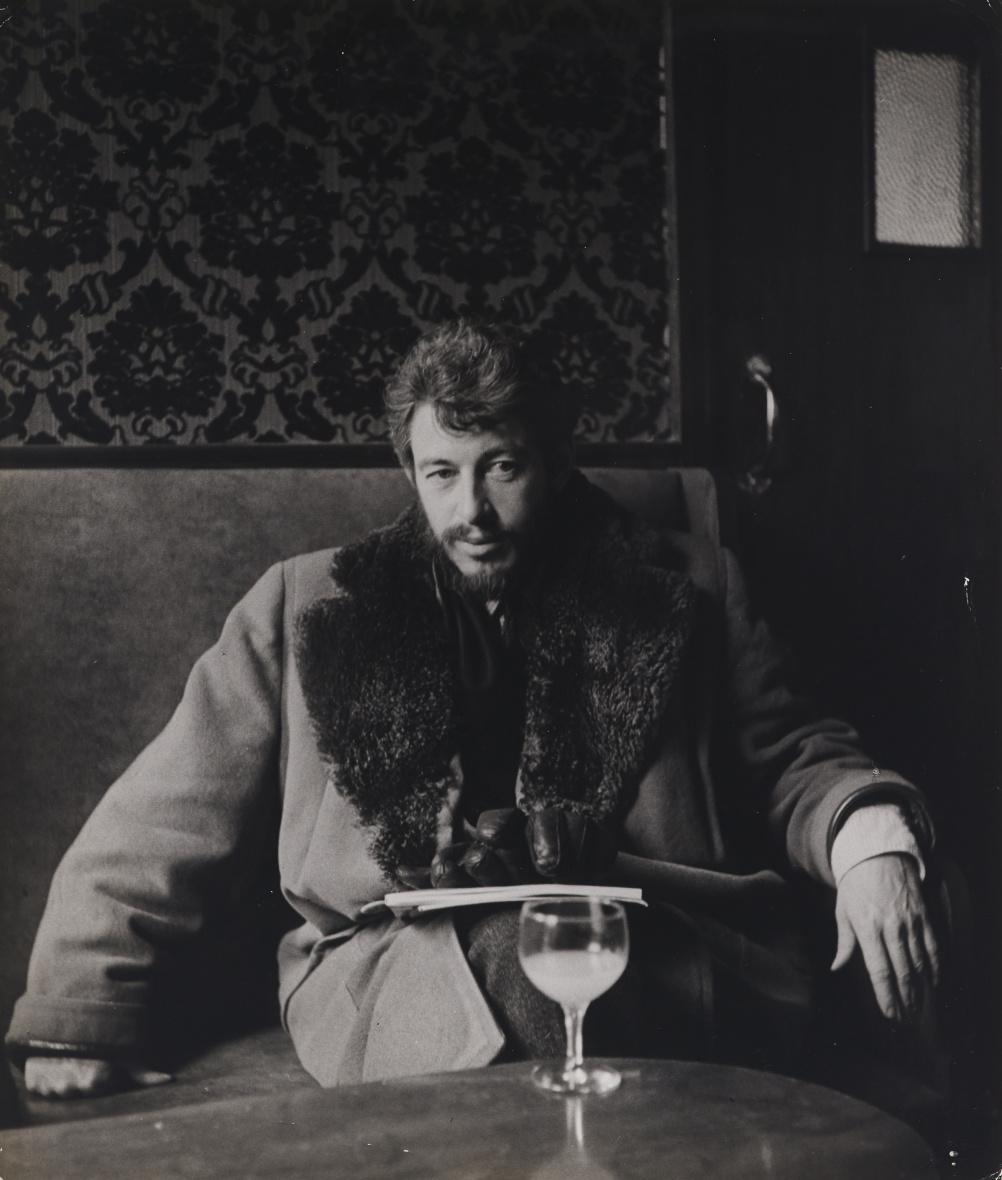 John Deakin, J.P. Donleavy, author and playwright, Soho, 1950s