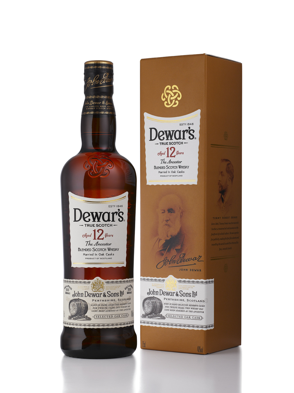 New look for Dewar's 12 Year Old