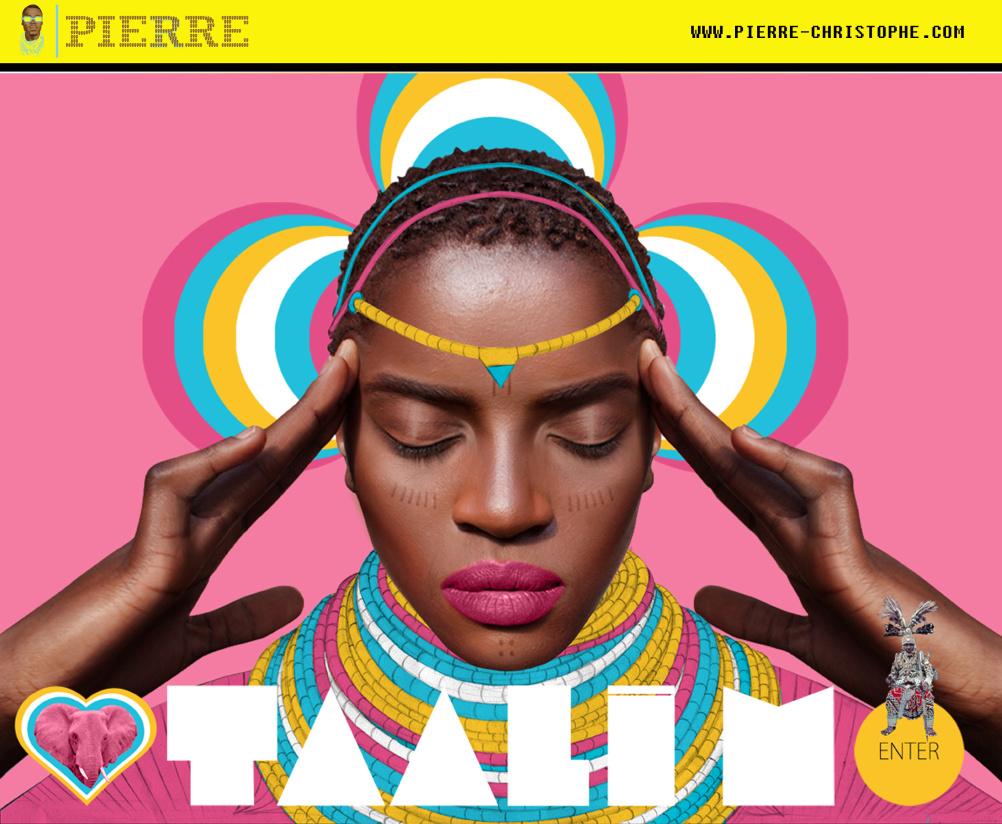 Website for singer Taali M