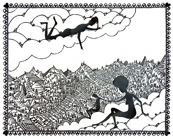 Mixing it up Down on Good Old Planet Earth by Rob Ryan