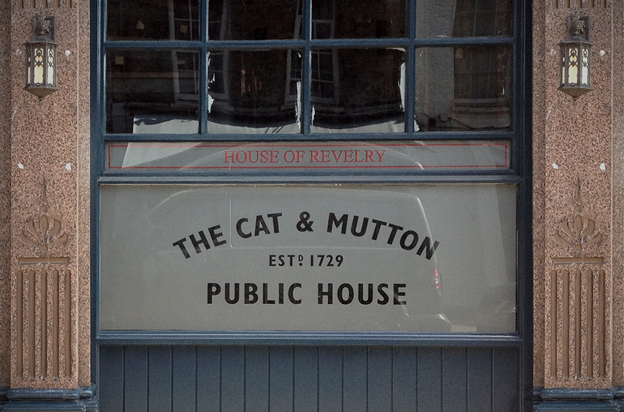 Cat and Mutton exterior.