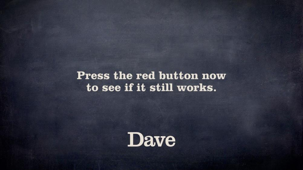 Dave channel branding still