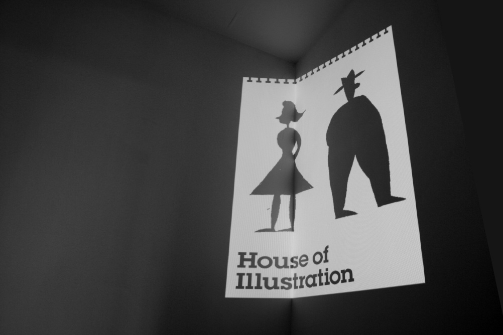 House of Illustration materials