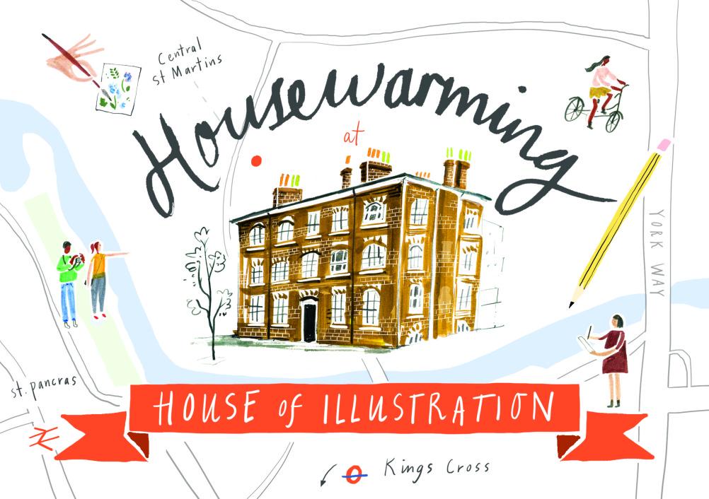 House of Illustration Housewarming