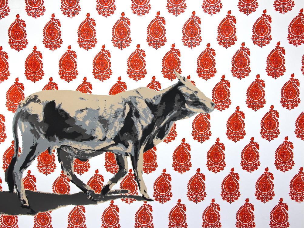 Holy Cow Mankolam Series by Natasha Kumar