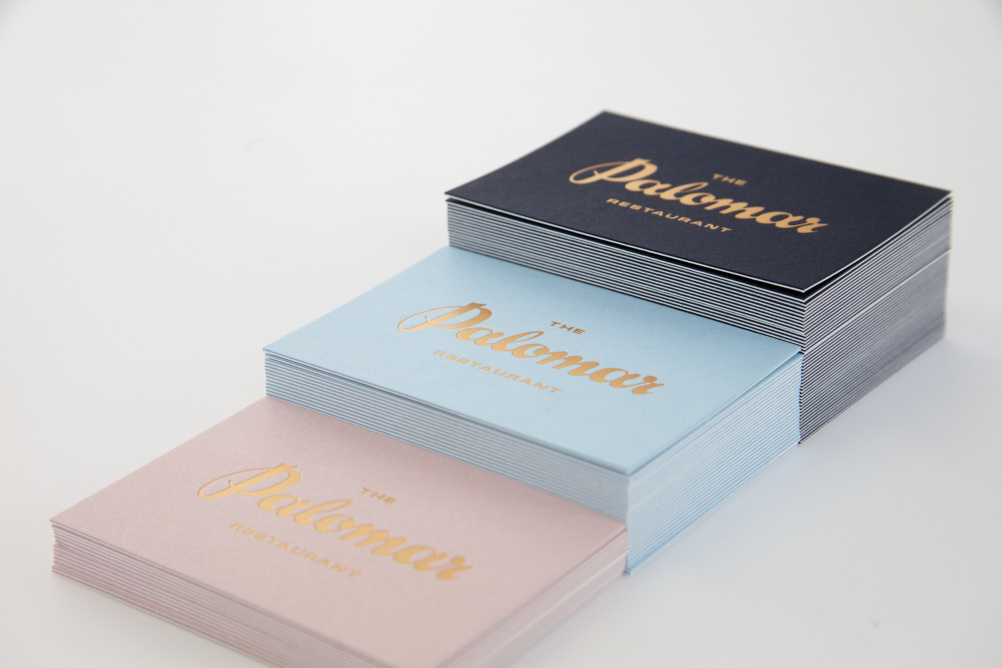 Palomar business cards