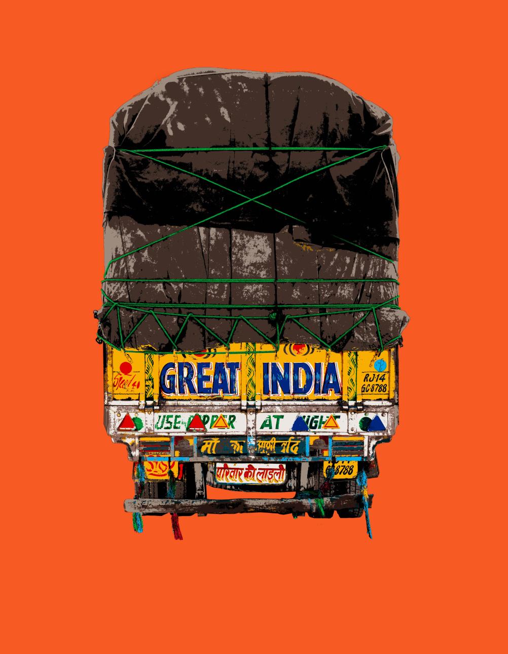 Natasha Kumar print, Great India