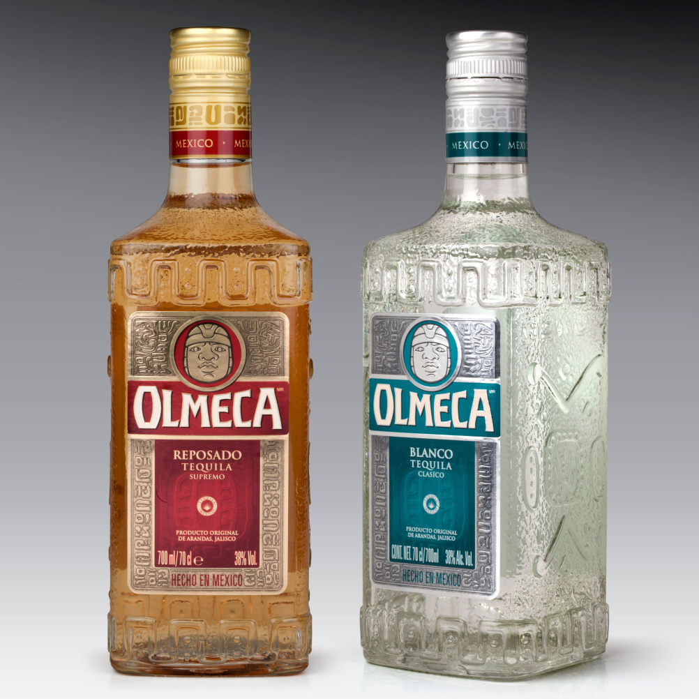 Old Olmeca bottles