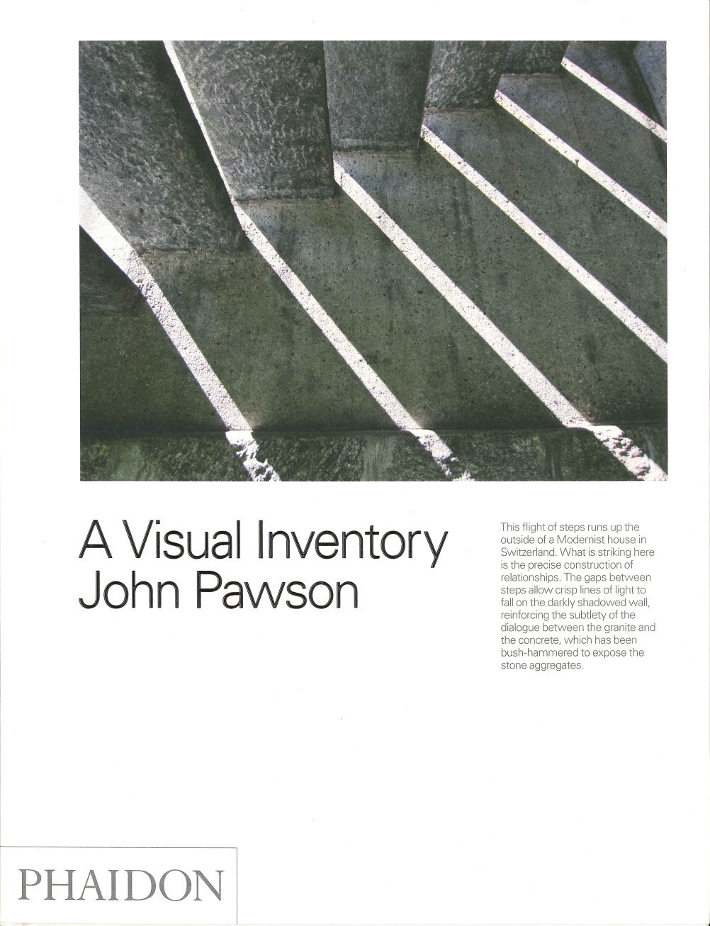 Paul Smith has chosen A Visual Inventory by John Pawson