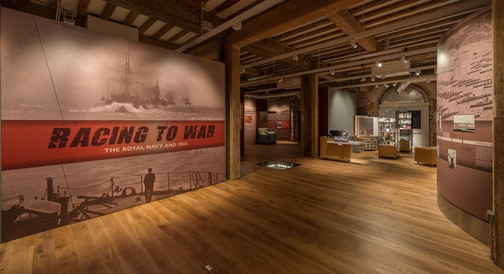 Racing to War entrance