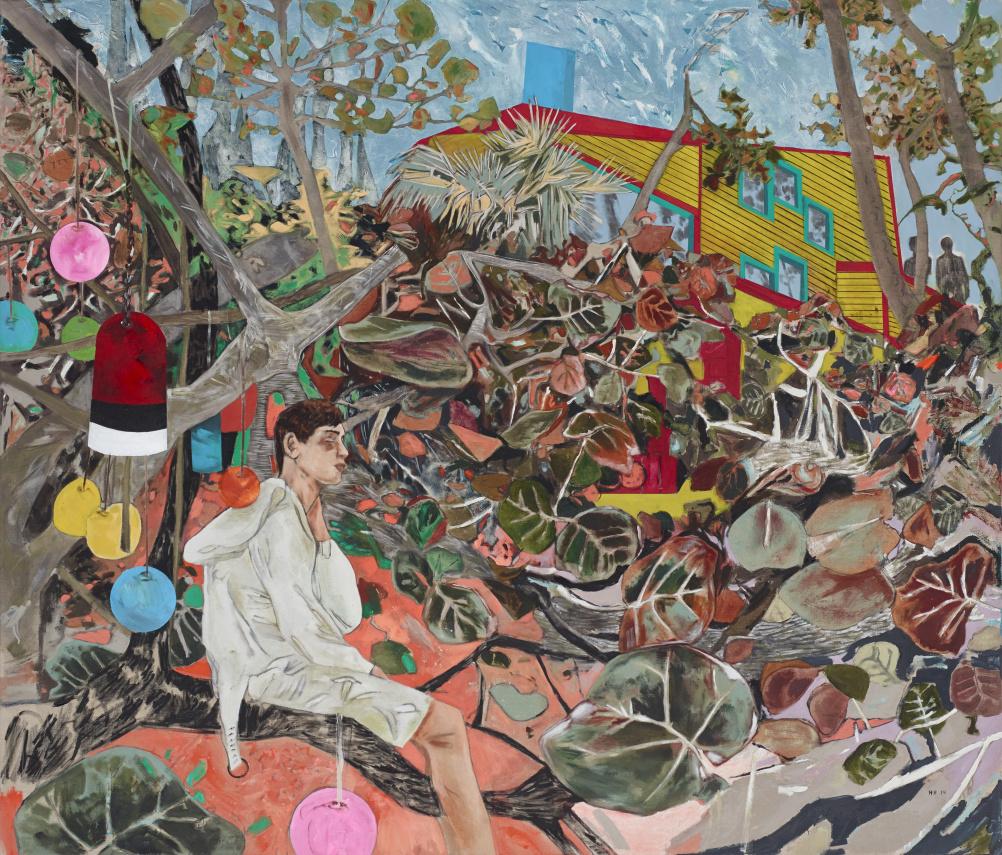 Hernan Bas Memphis Living (design panic), 2014