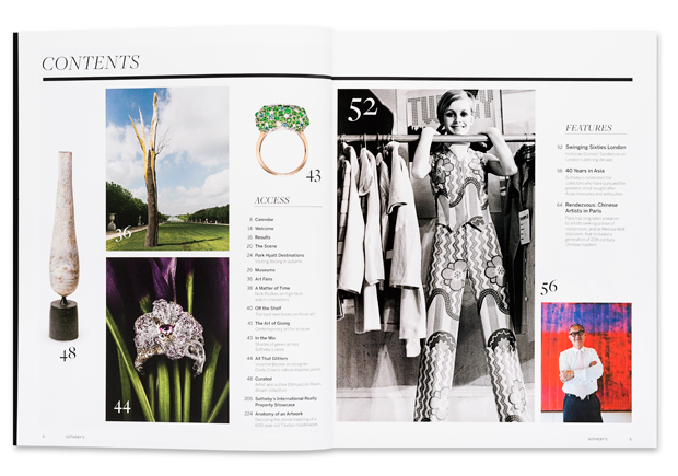Inside the new Sotherby's magazine