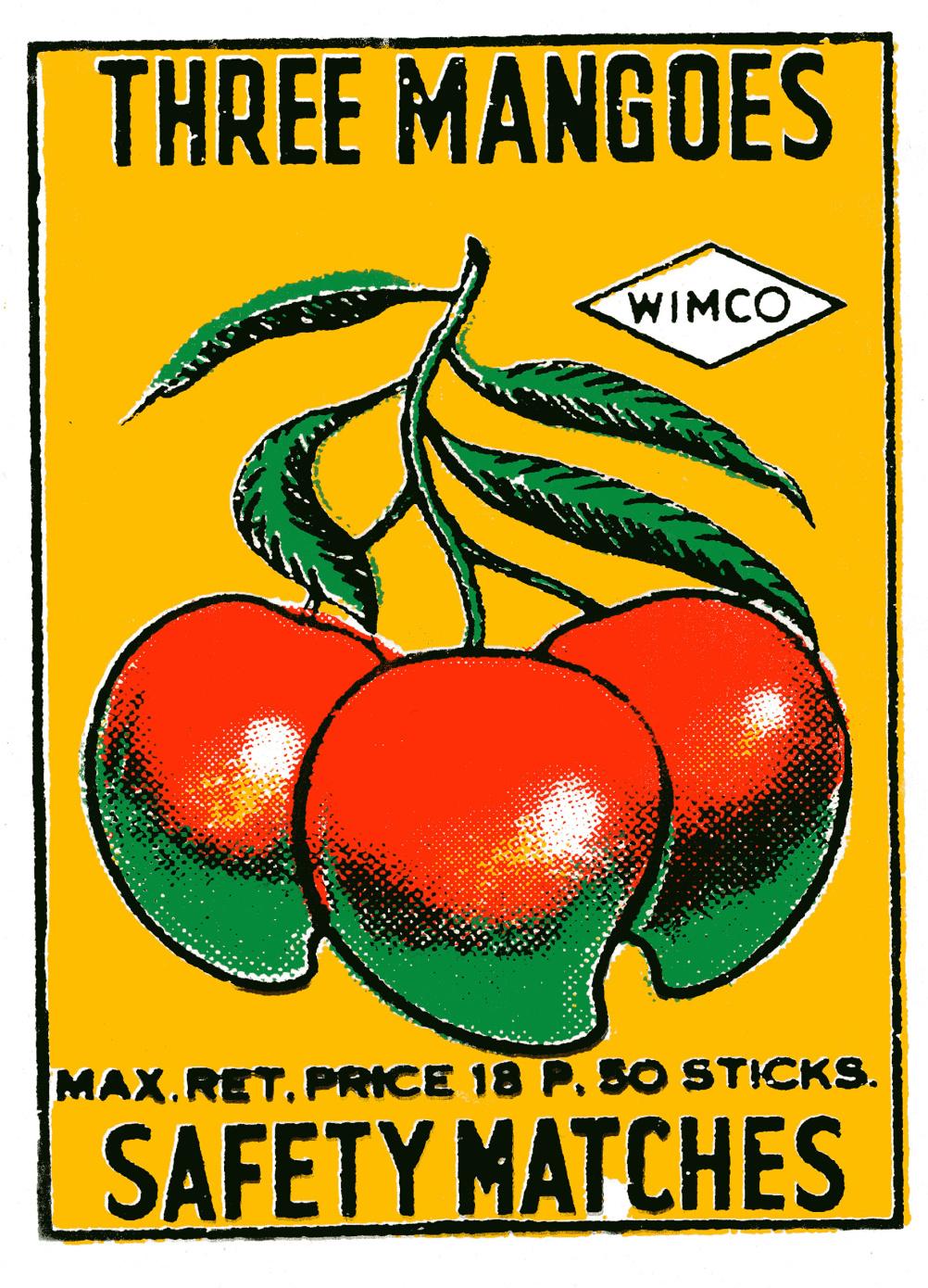 Three Mangoes poster