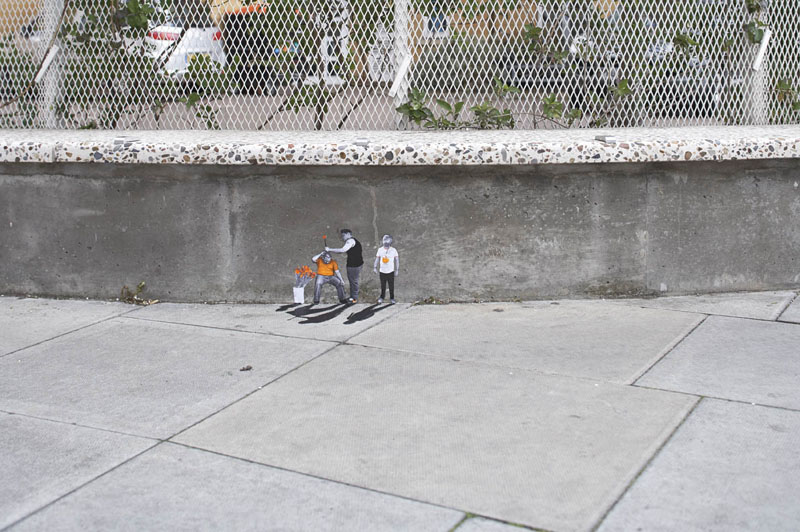 Pablo Delgado, Even Less, Street Art
