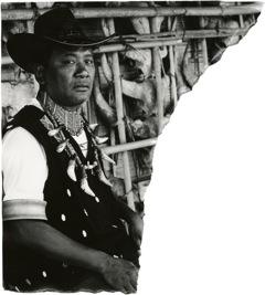 """David Bailey (*1938) """"Uncharted  Naga Hills"""""""