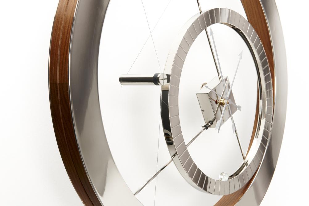 Acrobat clock
