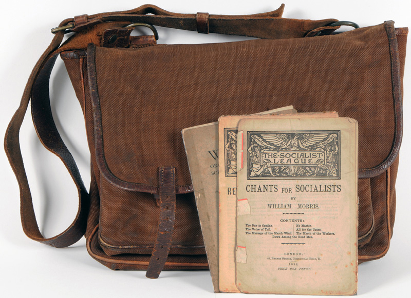 Satchel Owned by William Morris