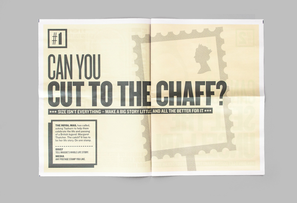 Can you cut to the chaff?