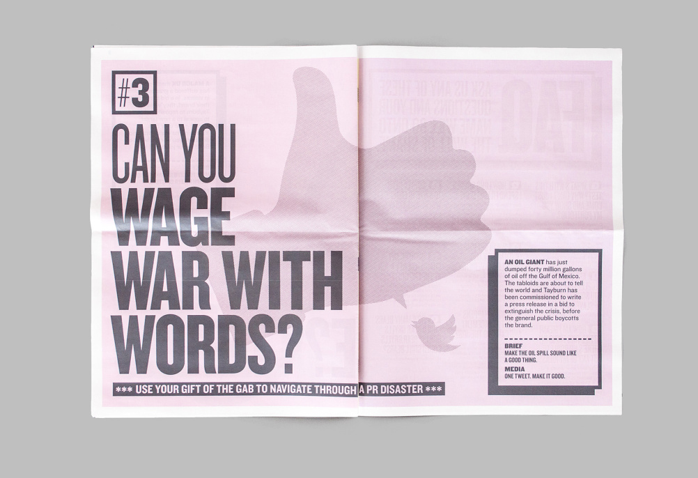 Can you wage war with words?