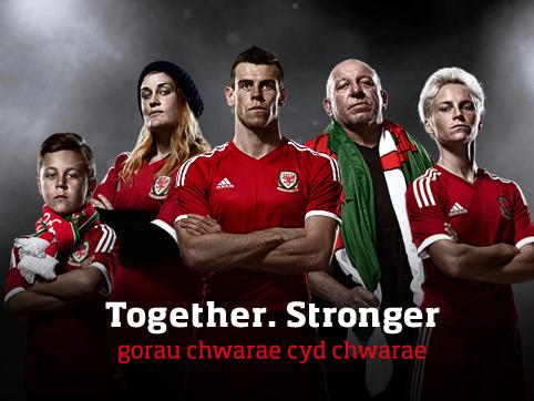 Together. Stronger by Designroom Sport