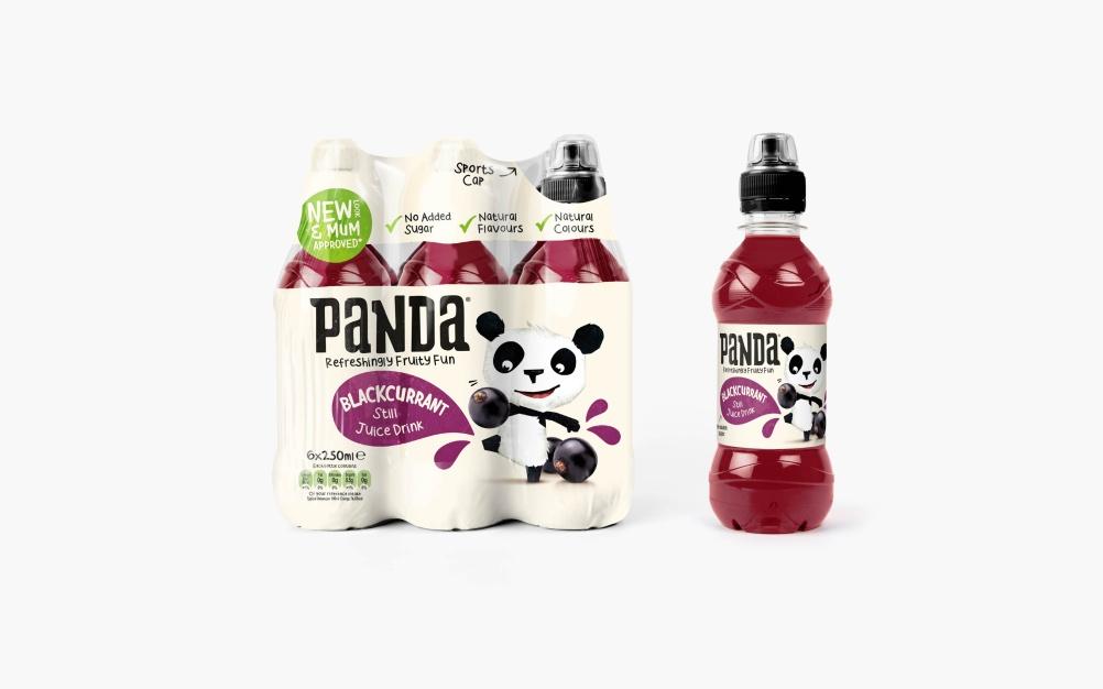 Panda  Blackcurrant Juice
