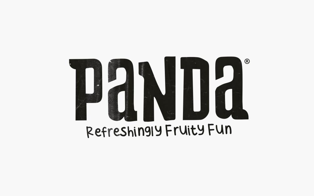 Panda word mark and strapline