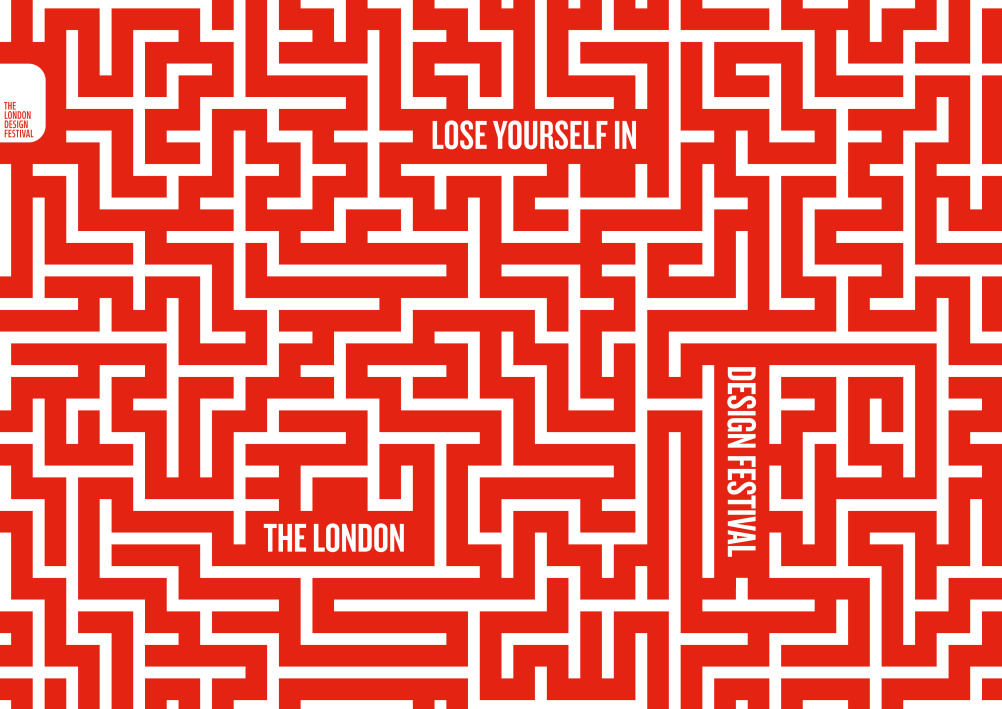 Lose Yourself in the London Design Festival by Domenic Lippa