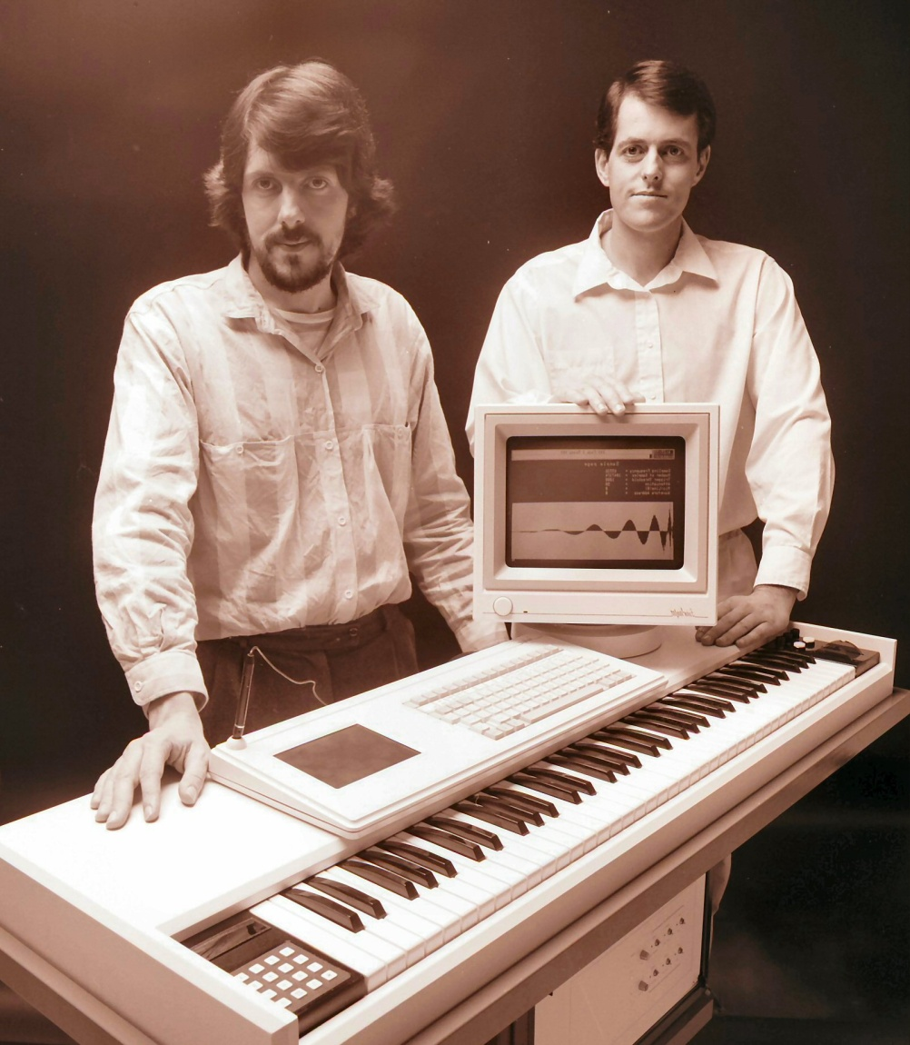Image of Fairlight CMI series III   Peter Vogel and Kim Ryrie