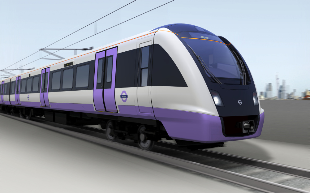An early impression from Bombardier of how the Crossrail train may look