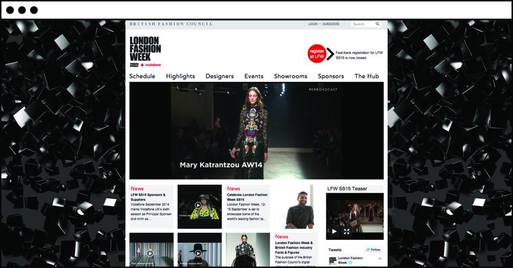 The LFW website