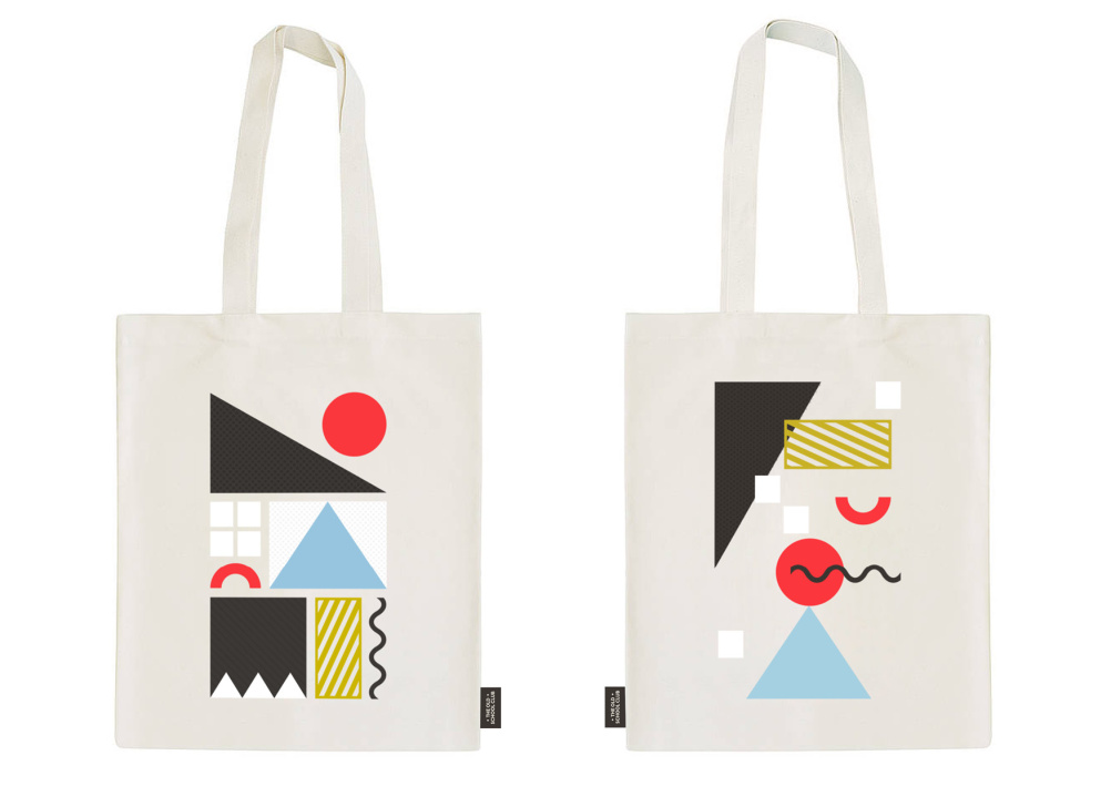 The Old School Club tote bags