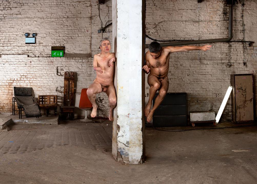 Mat Fraser and Manuel Vason, Double Exposures, London, 2013