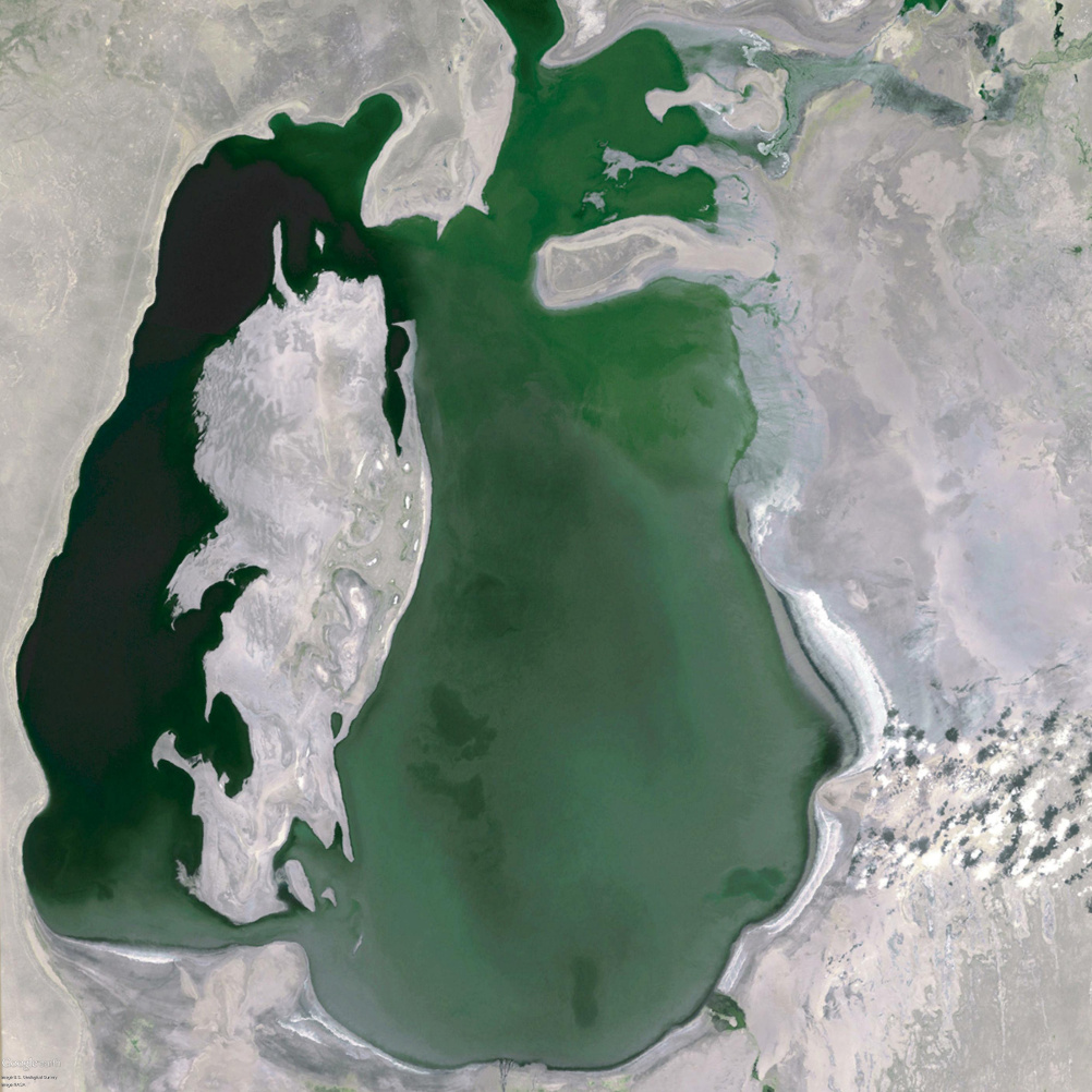 The Aral Sea in 1999