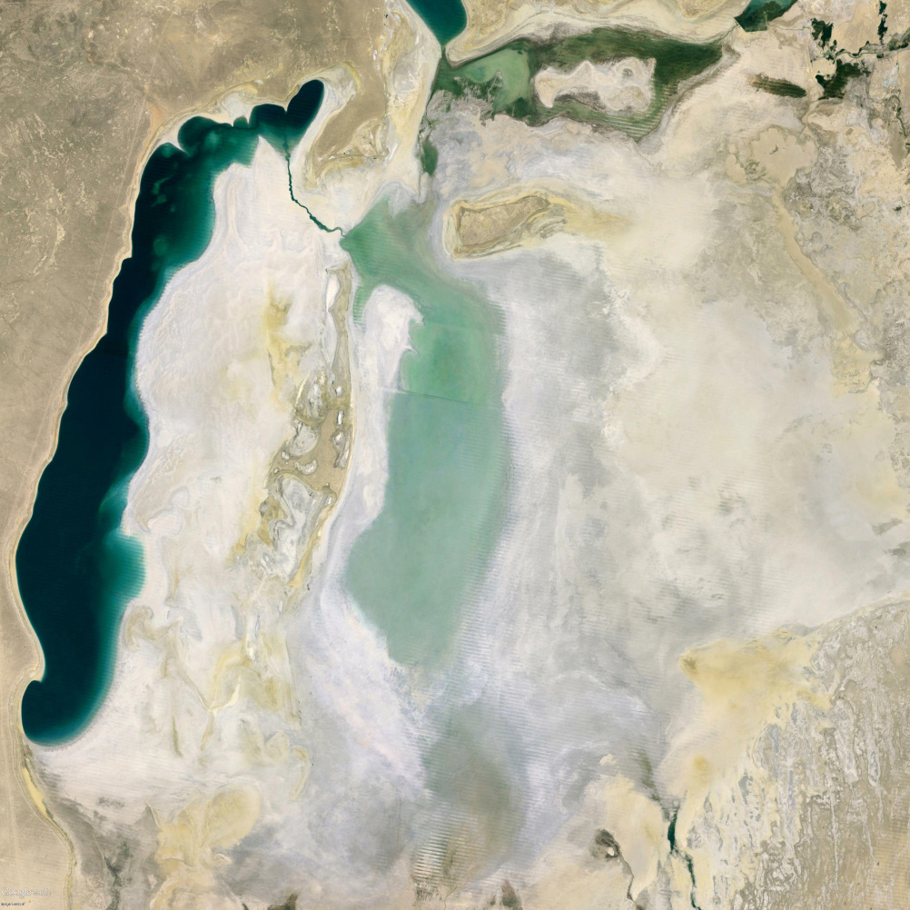 The Aral Sea in 2013