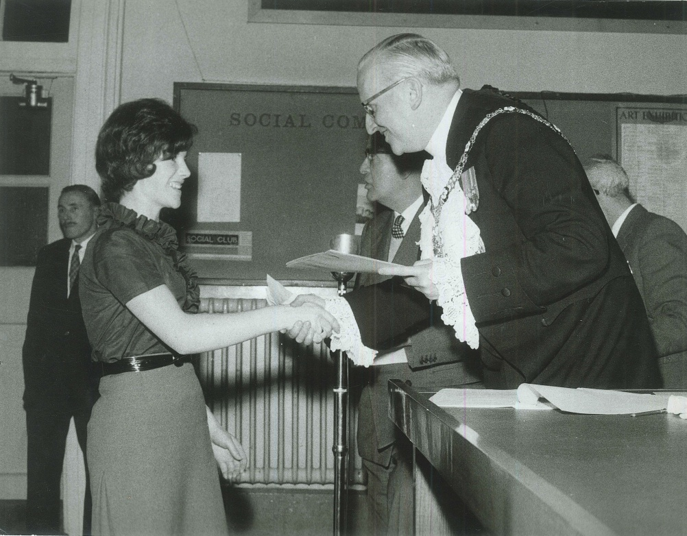 Graduation from the London College of Furniture