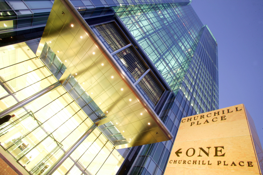 One Churchill Place – home of the Barclays design team
