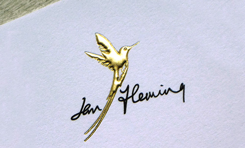 The new hummingbird logo
