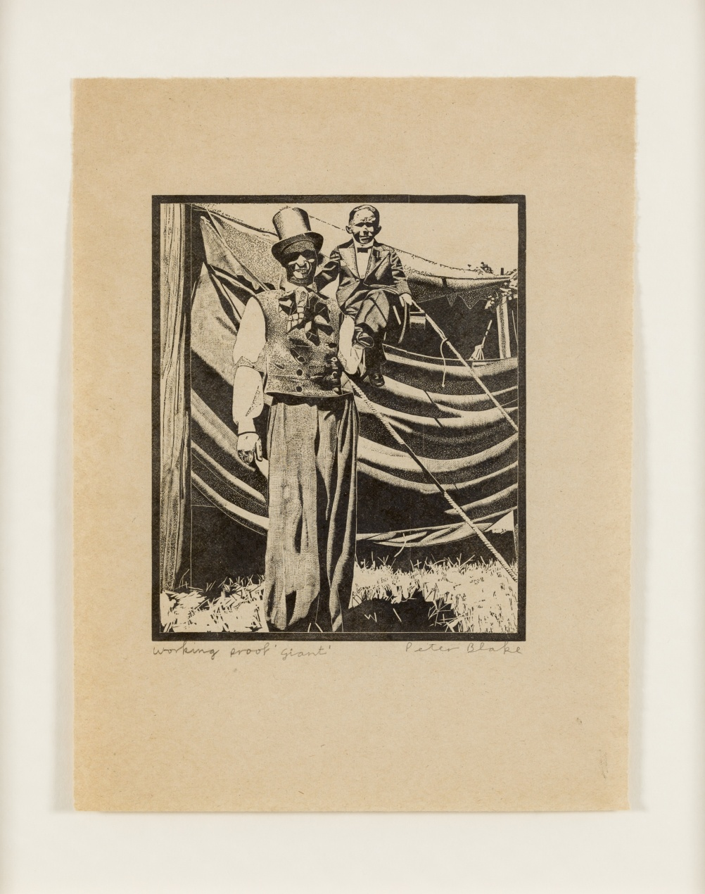 Giant from 1974-78 Side Show collection by Peter Blake