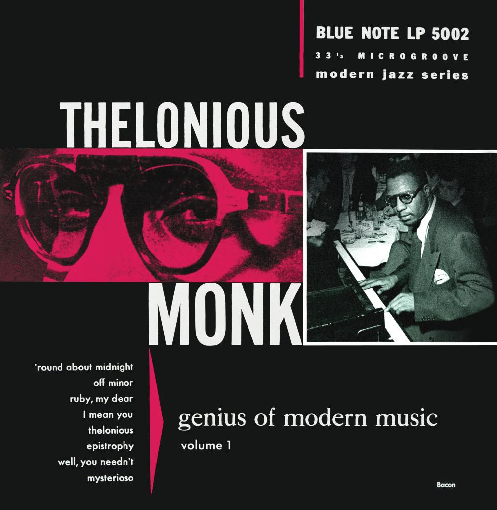 Thelonious Monk, Genius of Modern Music, Volumes 1 & 2 (1952) © 2014 Universal Music Group