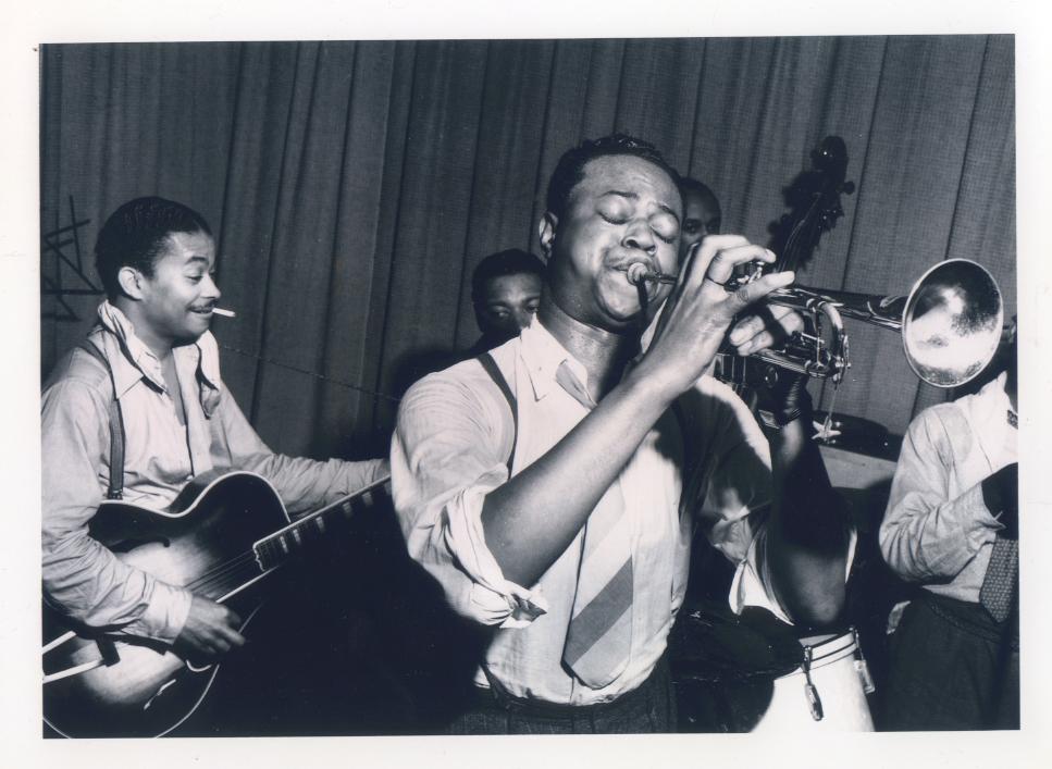 The Port of Harlem Jazzmen recording on 8 June 1939