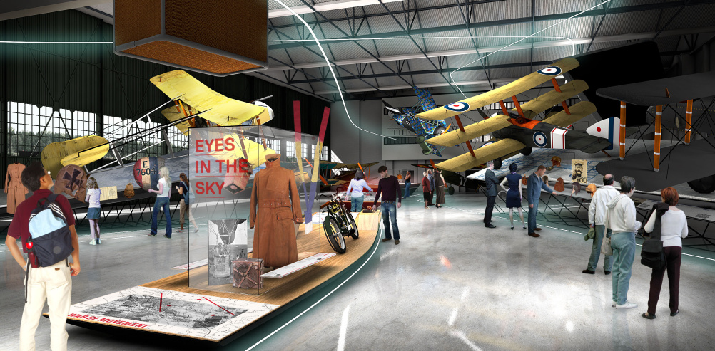Ralph Appelbaum Assocaiates for Royal Airforce Museum