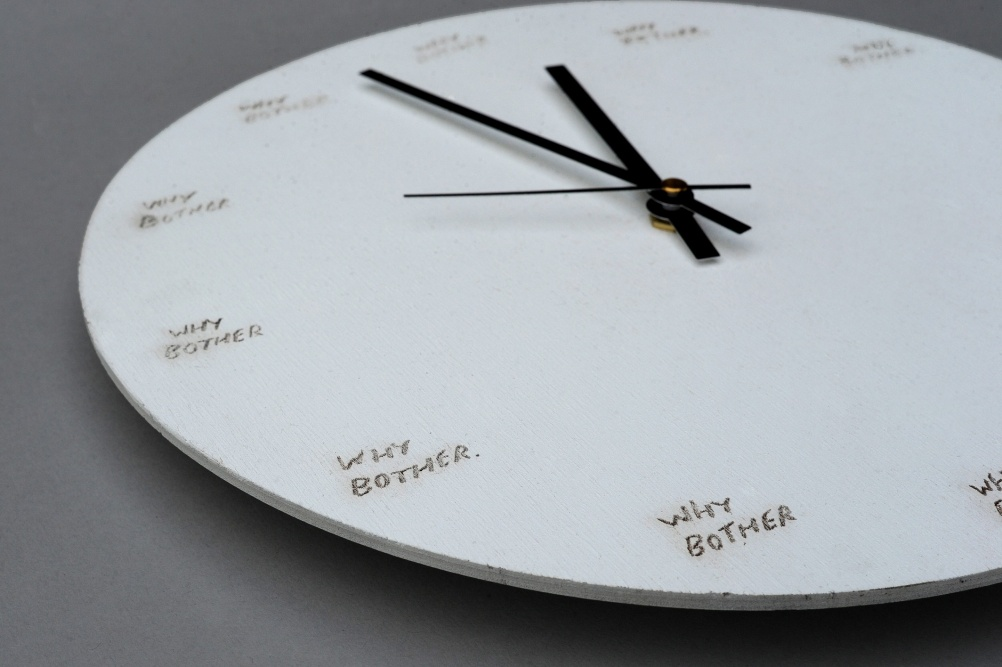 A Clock from the Crooked Darlings collection