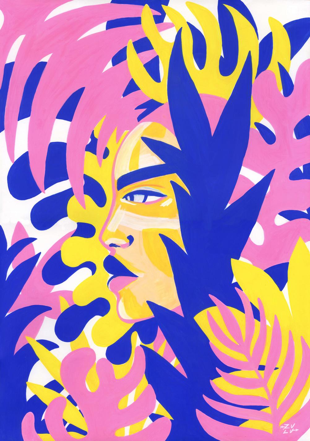 Feral Girl by Lynnie Zulu