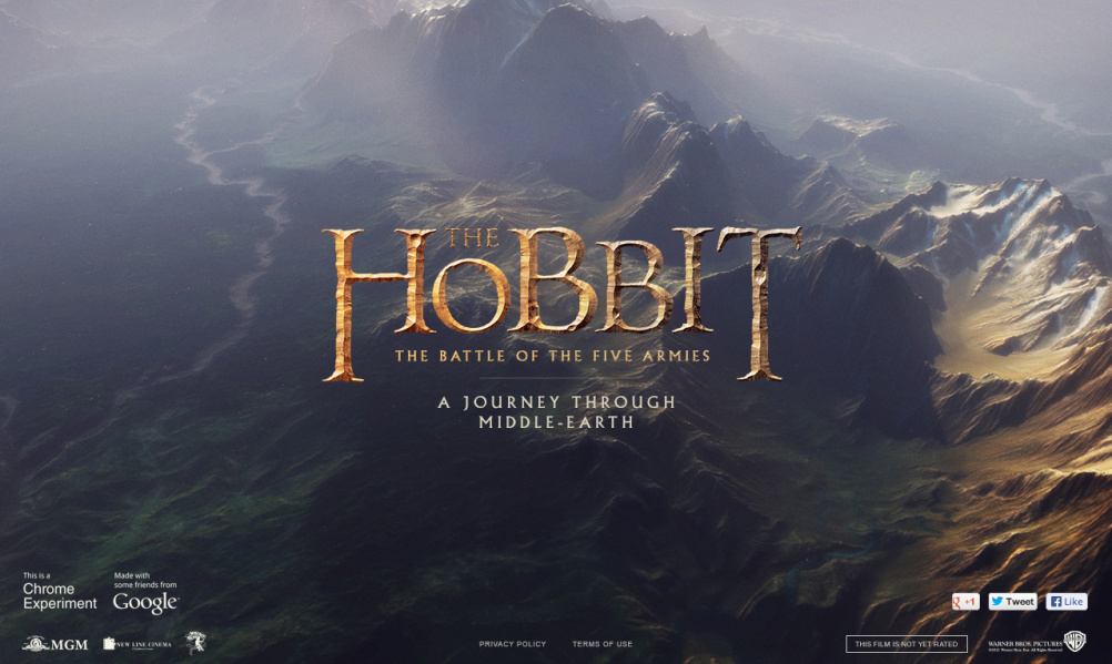The Hobbit: The Battle of the Five Armies. A Journey Through Middle Earth