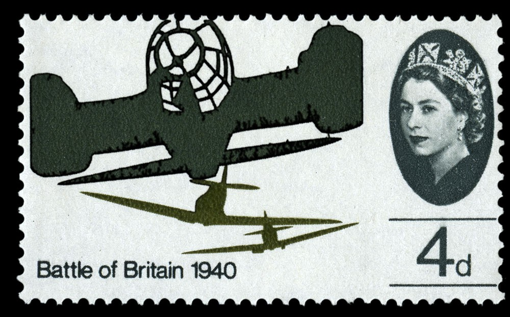 Special Stamps 50th anniversary Royal Mail Battle of Britain 3