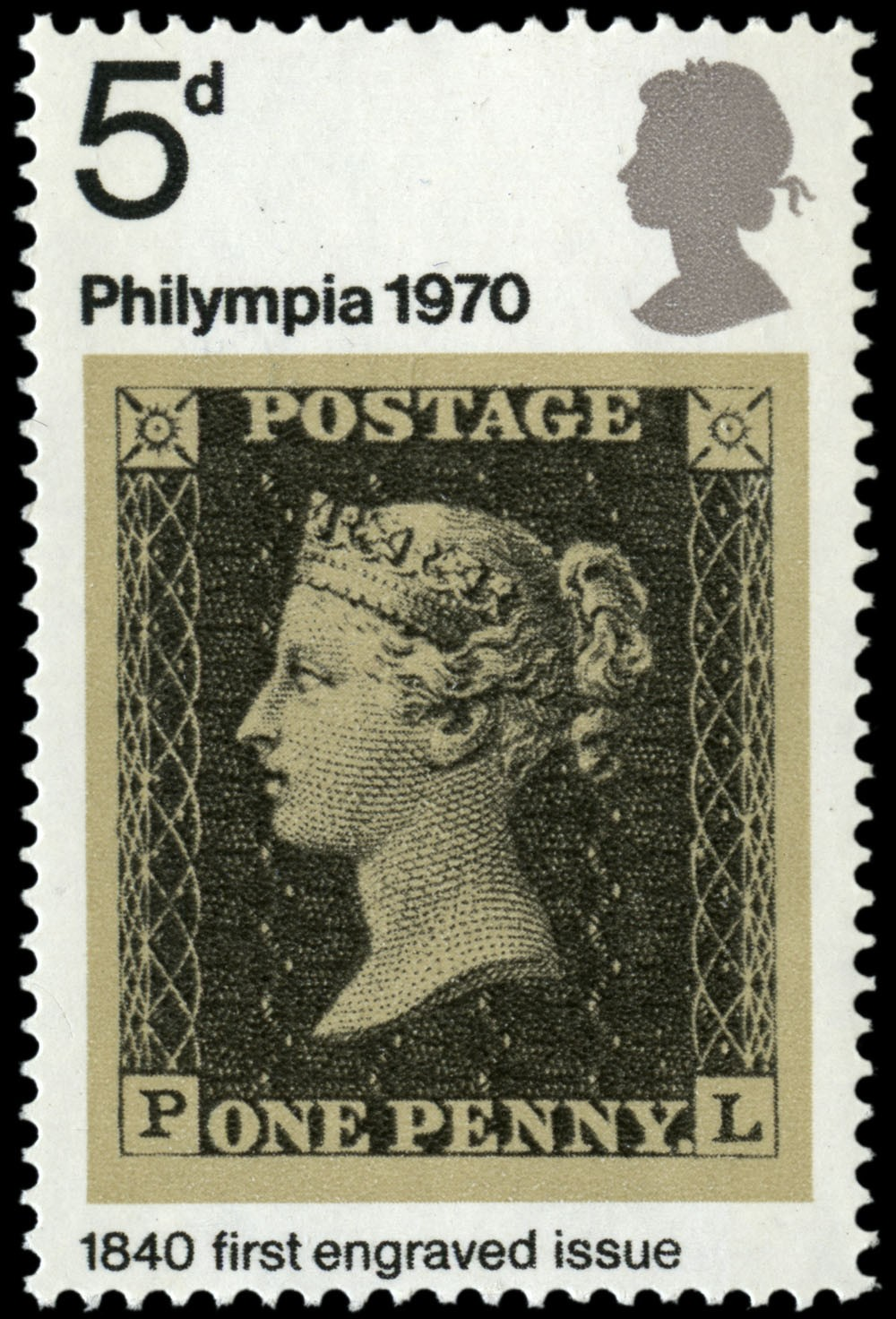 Special Stamps 50th anniversary Royal Mail Philympia